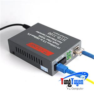 Bộ chuyển đổi quang điện 1 sợi Netlink HTB-3100 A/B