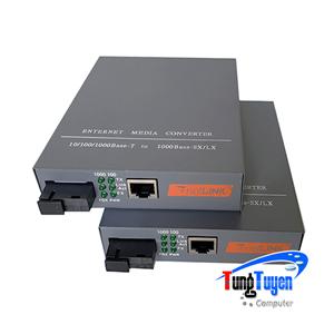 Bộ chuyển đổi quang điện 1 sợi Netlink HTB-4100AB