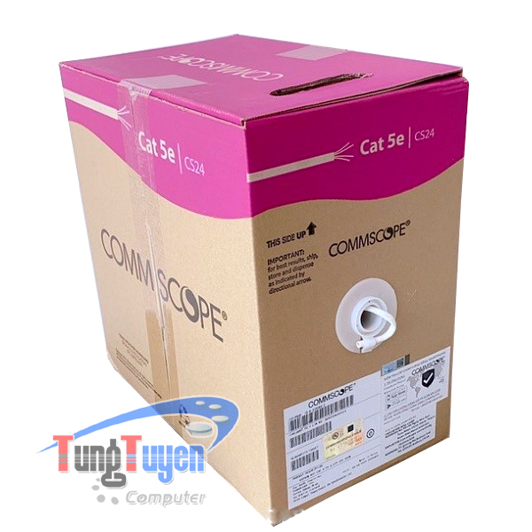 Cáp mạng Cat5e UTP COMMSCOPE | PN: 6-219590-2