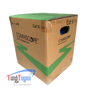 Cáp mạng Cat6 UTP COMMSCOPE | PN: 1427254-6