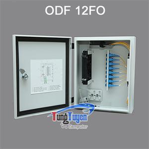 Hộp phối quang ODF 12Fo ngoài trời đầy đủ phụ kiện
