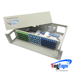 Hộp phối quang ODF 72 FO đầy đủ phụ kiện (Cố định)