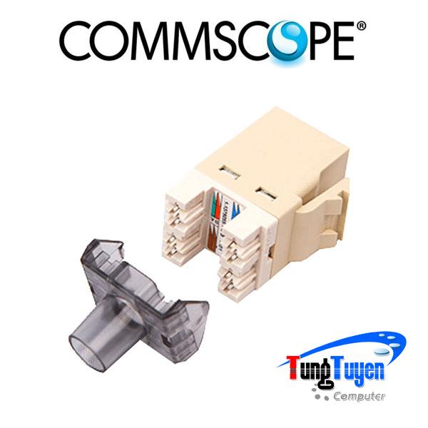 Nhân mạng COMMSCOPE/AMP Cat5e chính hãng - Modular Jack Cat5e