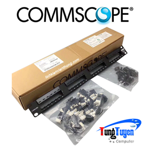 Patch panel 24 port CAT6 COMMSCOPE P/N: 1375014-2