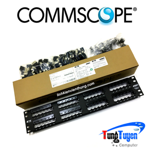 Patch panel COMMSCOPE 48 port CAT6 | PN: 1375015-2